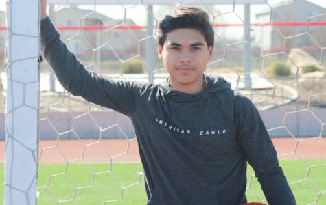Pierre Espinoza has the drive to reach his 'goals'