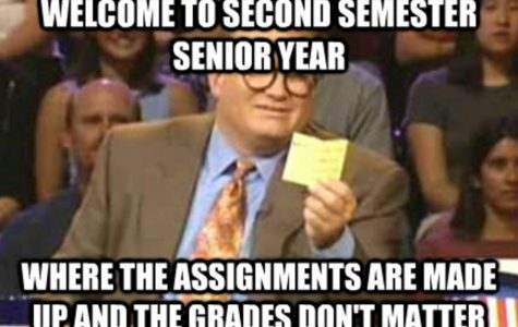 Senioritis is a struggle, so fight back