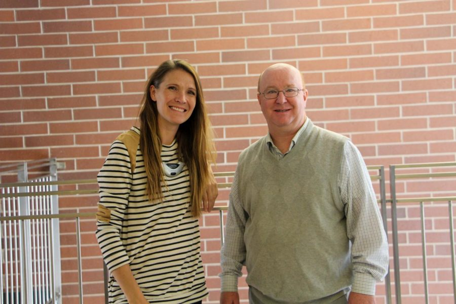 Ms. Green and Mr. Burton are GHS graduates from the 80's and 90's