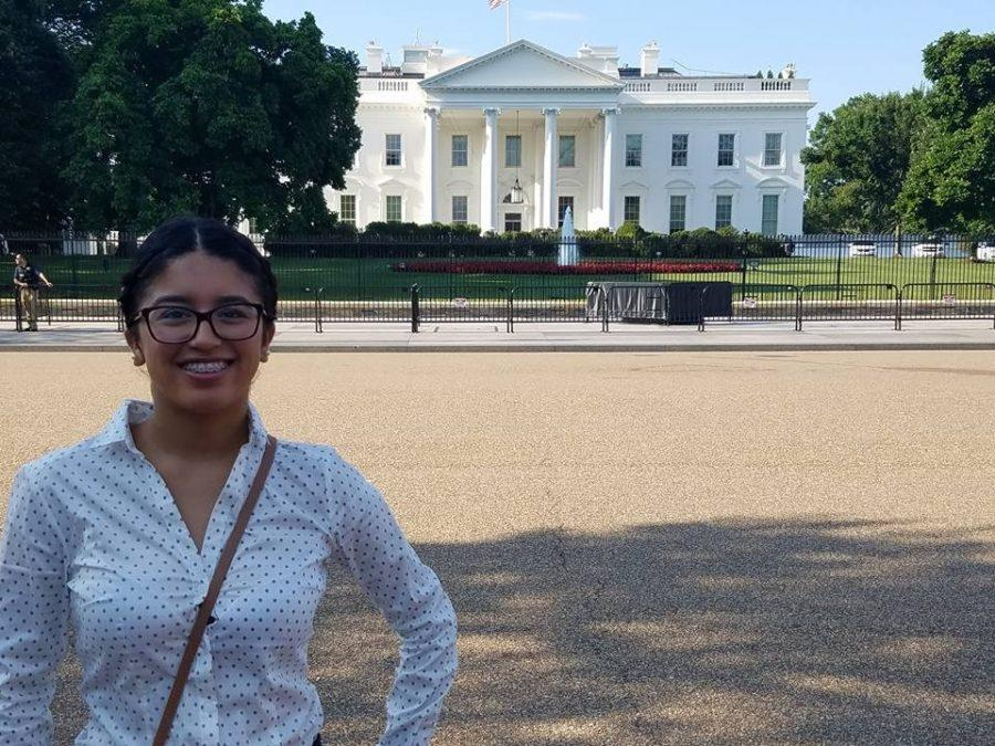 Diana Mota is very grateful that she got the opportunity to go to the white house.