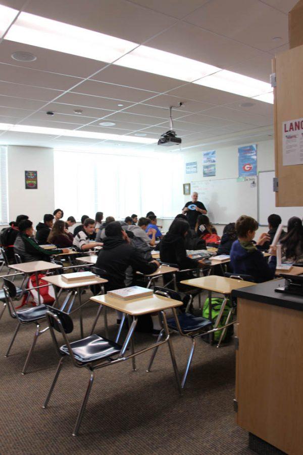 Freshmen prepare for high school experience with Success 101
