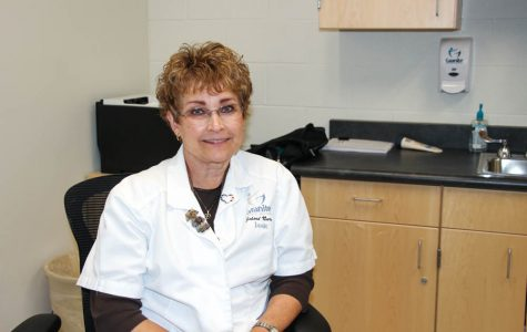 Granger's nurse is ready to help Lancers improve their health