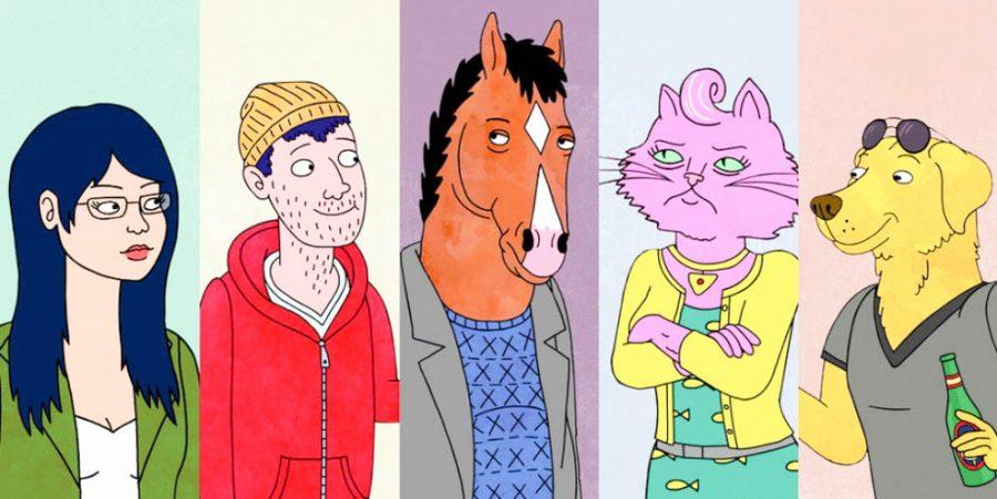 Bojack Horseman presses the issue of depression on TV