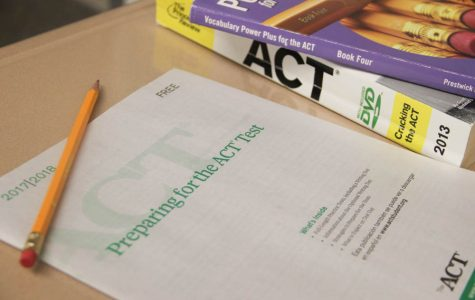 Junior prep for ACT test