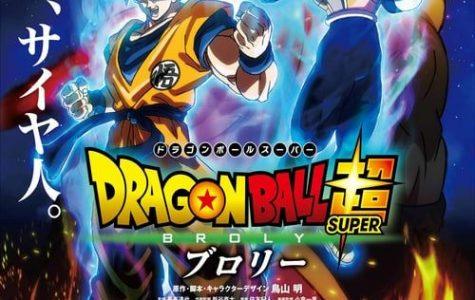 Catch Dragon Ball Z Super Broly on 1/16