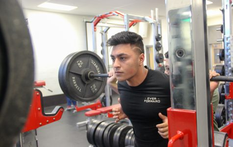 Improvements are happening in weight-training class