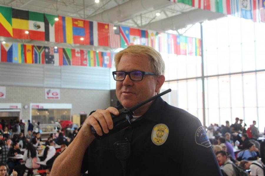 Officer Hoffman enjoys working at Granger.