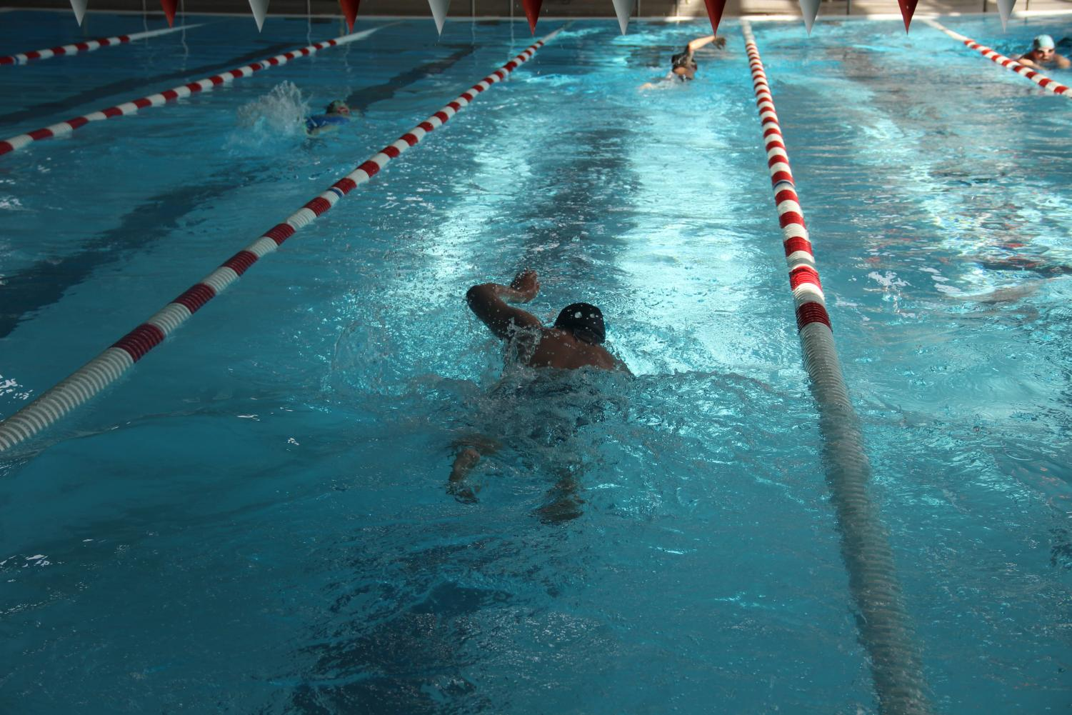 Lancers on the swim team are passionate about the sport.